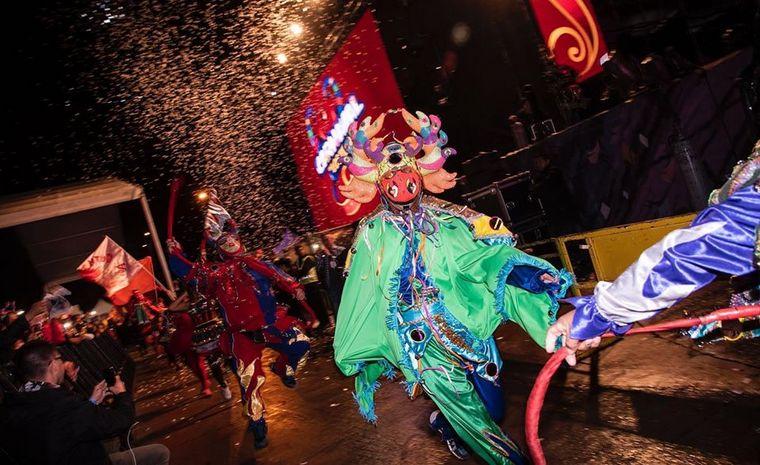 FOTO: Lit Killah en el Carnaval de Los Tekis