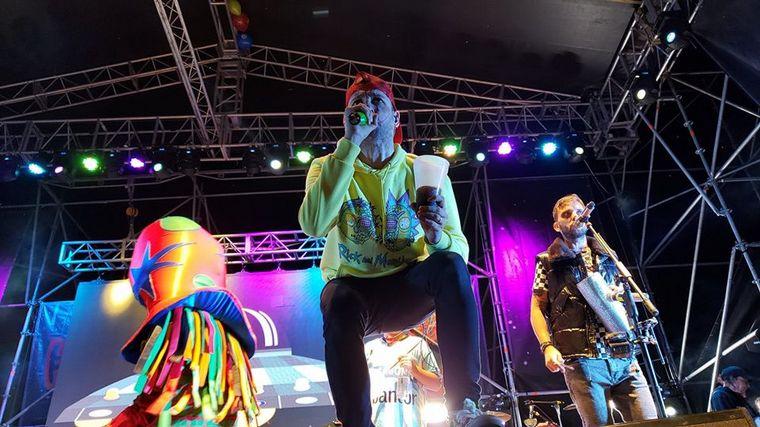 FOTO: Los Caligaris brillaron en el Festival del Lomito
