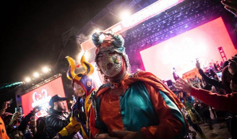 FOTO: Segunda noche del Carnaval de Los Tekis en Jujuy.