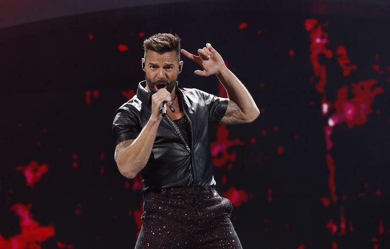FOTO: El impactante show de Ricky Martin en Viña del Mar.
