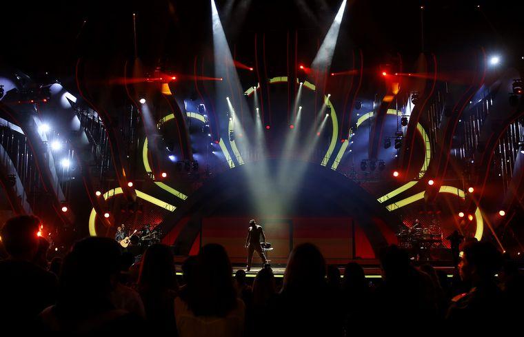 FOTO: El show de Ricky Martin en el Festival de Viña del Mar.