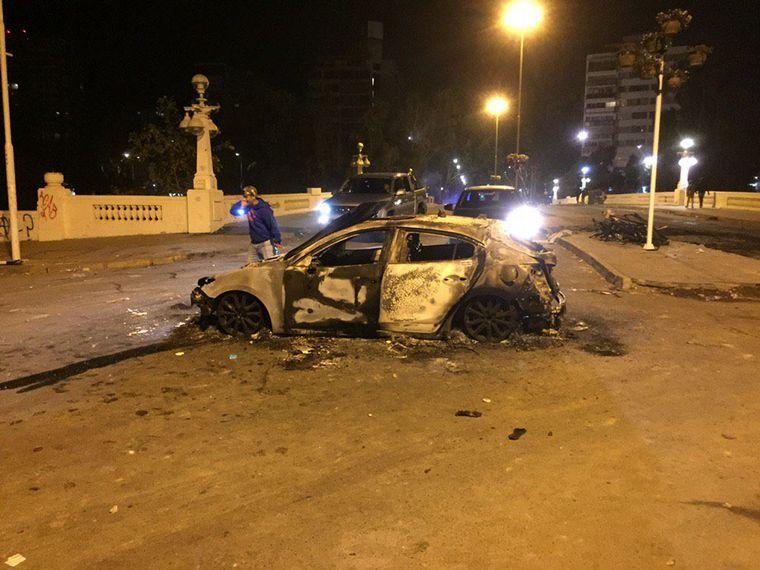 AUDIO: El día después de los disturbios en Viña del Mar (por Guillemo Hemmerling)