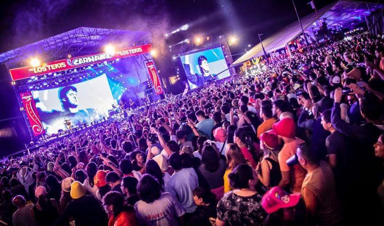 FOTO: Última noche del Carnaval de Los Tekis en Jujuy.