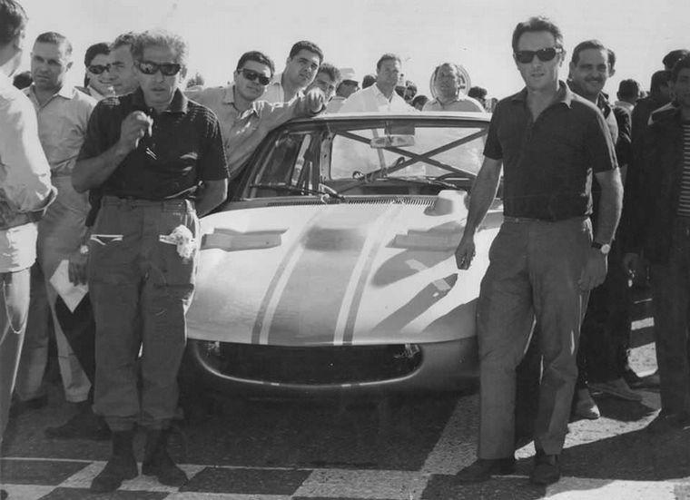 FOTO: Ternengo,Copello,Berta y Gradassi, el equipo oficial IKA de 1967.