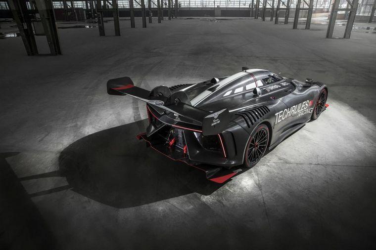 FOTO: Un súper auto como punto de un prometedor desarrollo para la movilidad