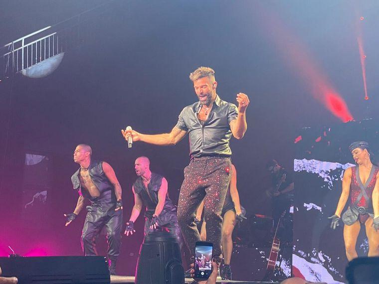 AUDIO: Repaso del show de Ricky Martin en Córdoba