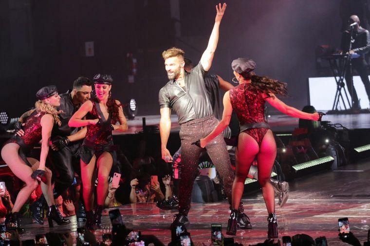 FOTO: El espectacular show de Ricky Martin en Córdoba.
