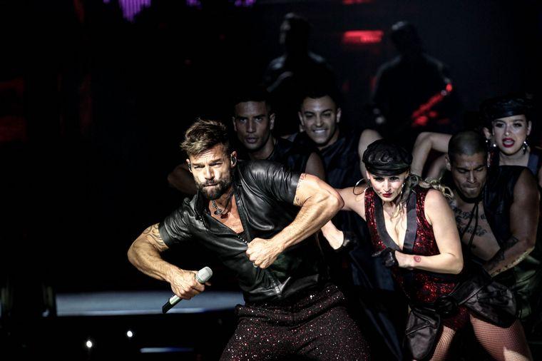 FOTO: Las mejores imágenes del show de Ricky Martin en Córdoba.