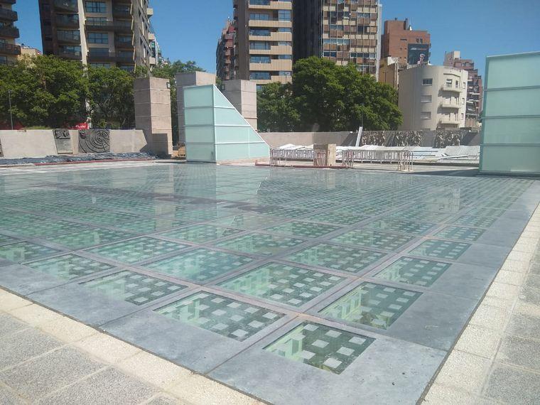FOTO: Obras en Plaza España