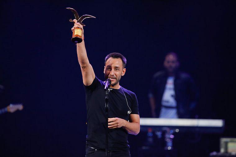 FOTO: Luciano Pereyra en el Festival de Viña del Mar