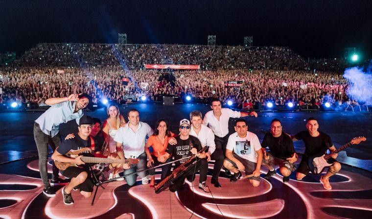 AUDIO: Hubo más de 70 mil personas (Por Yeny Ortega y Luis Meglioli)