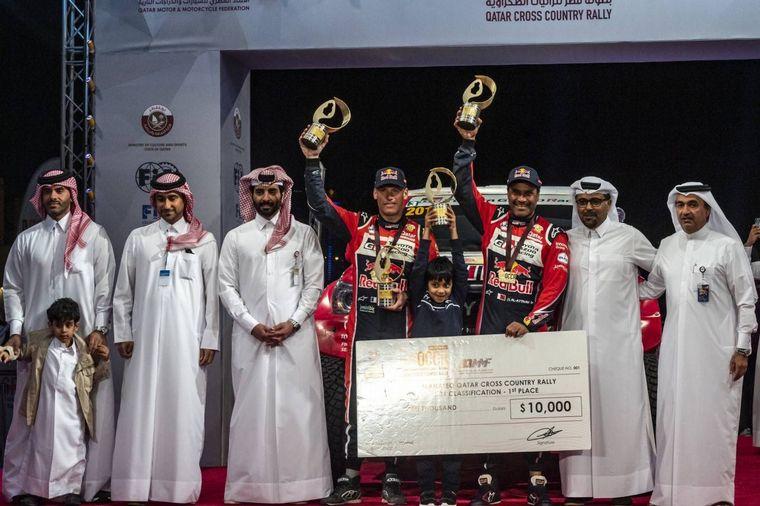 FOTO: Ahmed Al-Kuwari/Manuel Lucchese fueron los ganadores en T3