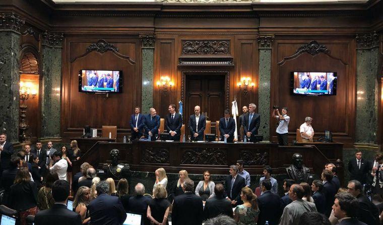 FOTO: Horacio Rodríguez Larreta dio inicio al periodo de sesiones en la legislatura porteña
