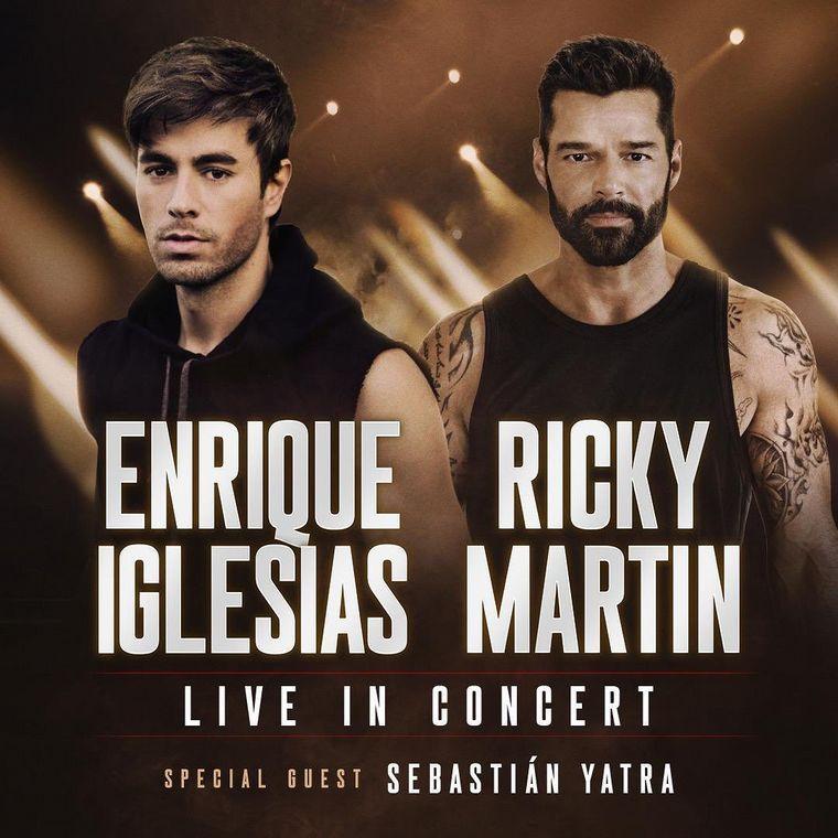 FOTO: Ricky Martin y Enrique Iglesias harán una gira juntos.