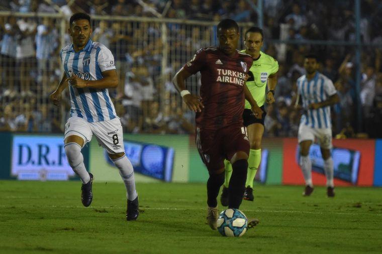 AUDIO: 1º Gol de River (Matías Suárez)