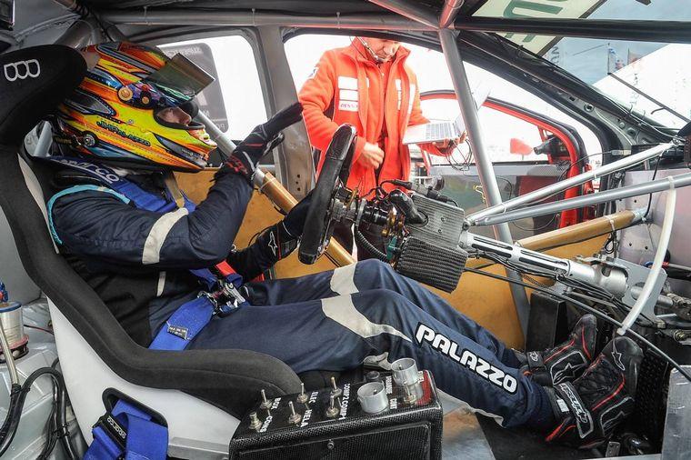 FOTO: El joven talento Hernán Palazzo es el nuevo piloto de Toyota en STC2000 y TR