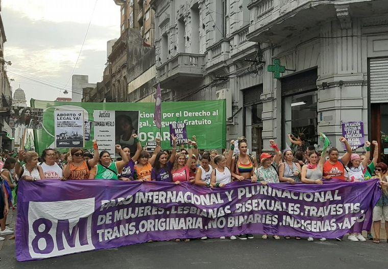FOTO: Paro feminista en Buenos Aires