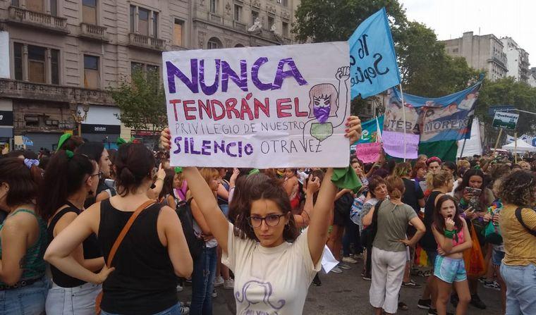 FOTO: Paro feminista en Rosario
