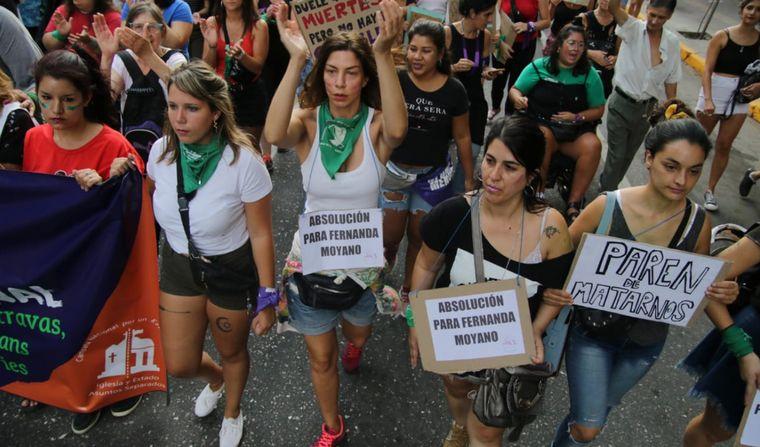 FOTO: Marchas en San Luis por el 9M.
