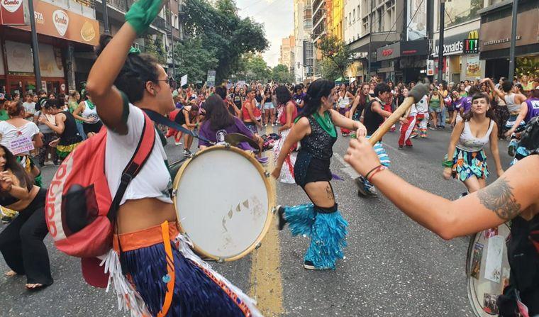 FOTO: Marcha feminista por las calles de Córdoba por el 9M.