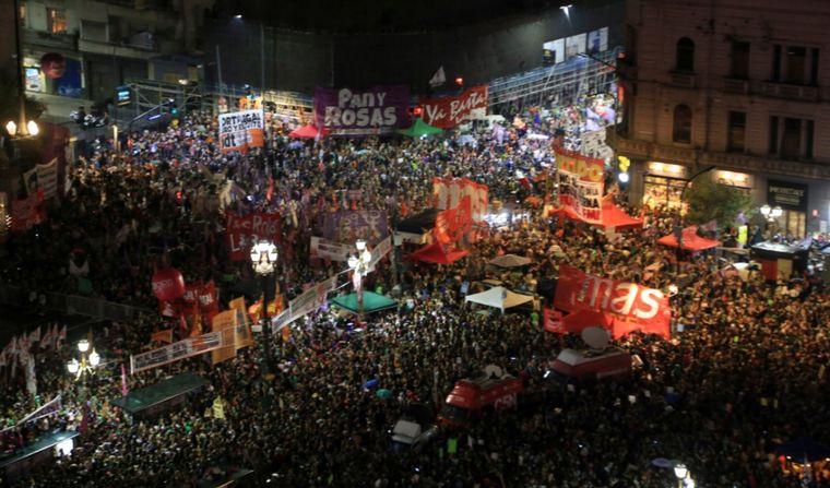 FOTO: 9M: Miles de mujeres marcharon en todo el país.