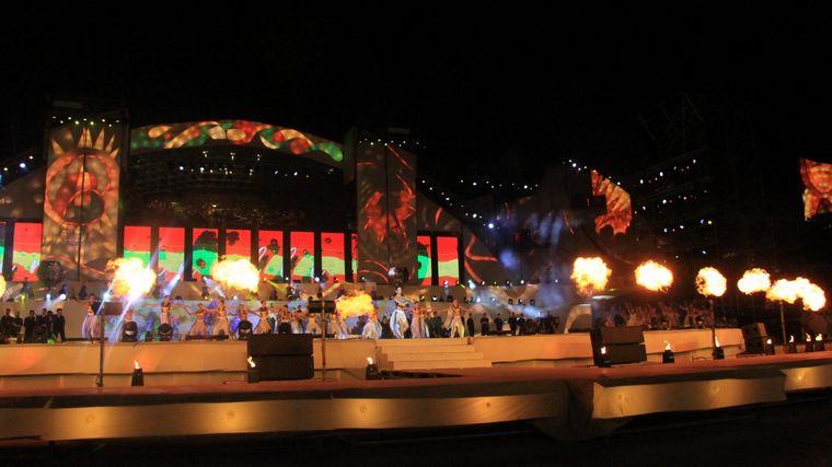 FOTO: La última noche de la Vendimia, un espectáculo a puro color.