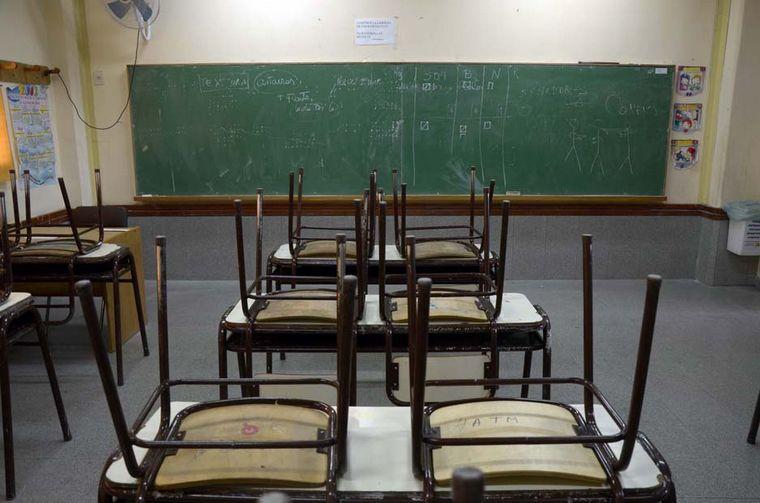 FOTO: La paritaria docente cerró con un aumento salarial de 33,5 %