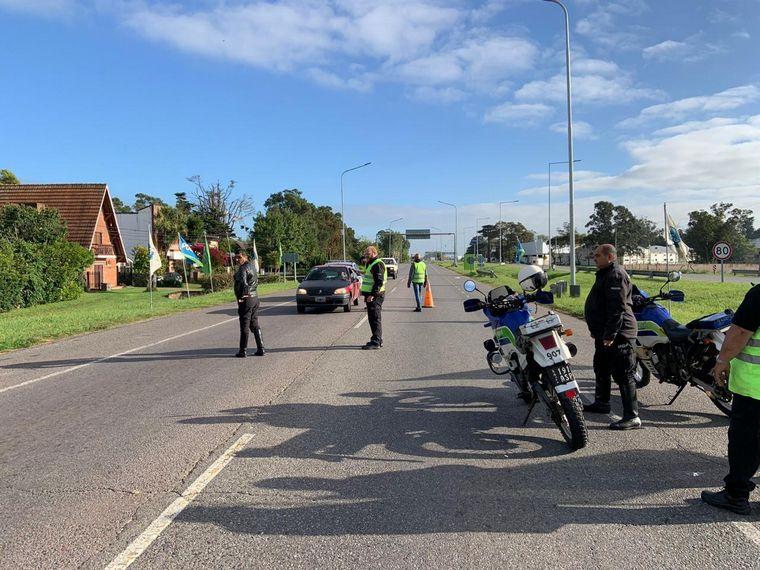 FOTO: Prohíben el ingreso de turistas a Mar del Plata.