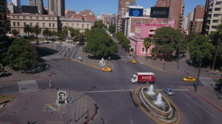 FOTO: Córdoba, en épocas del coronavirus.