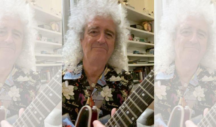 Brian May nos enseña a tocar el solo de 'Bohemian Rhapsody'