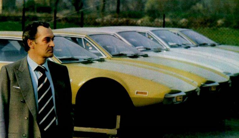 FOTO: Ford y De Tomaso se asociaron para producir un GT con carácter pero buen precio