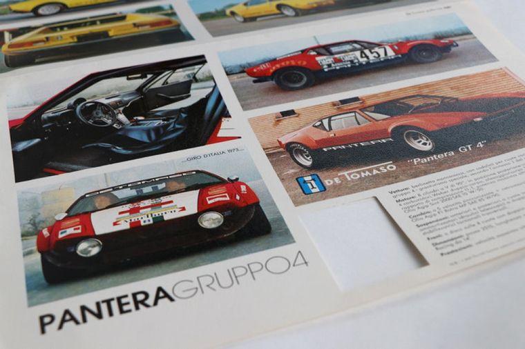 FOTO: El Pantera también tuvo una versión racing -GT4- con 500 caballos