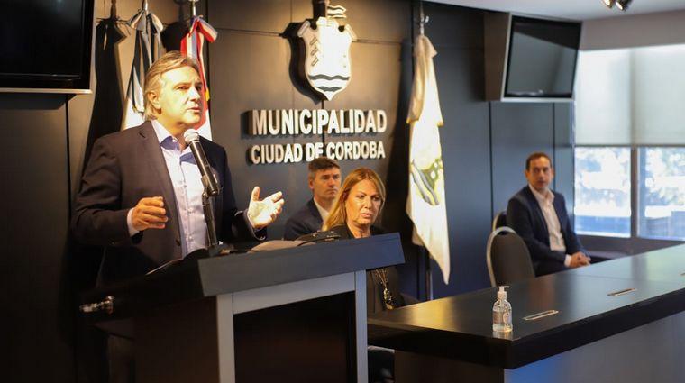 FOTO: El intendente de Córdoba, Martín Llaryora.