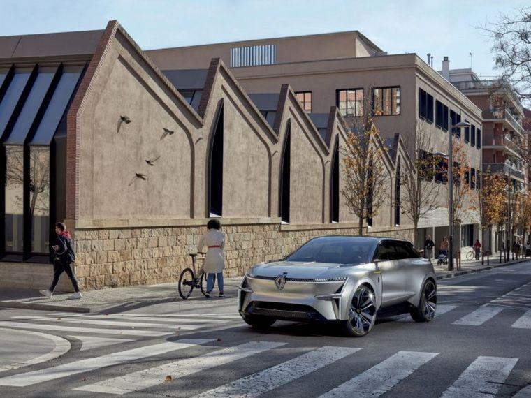 """FOTO: Morphoz, el """"concept"""" de Renault que inspirará su línea VE"""
