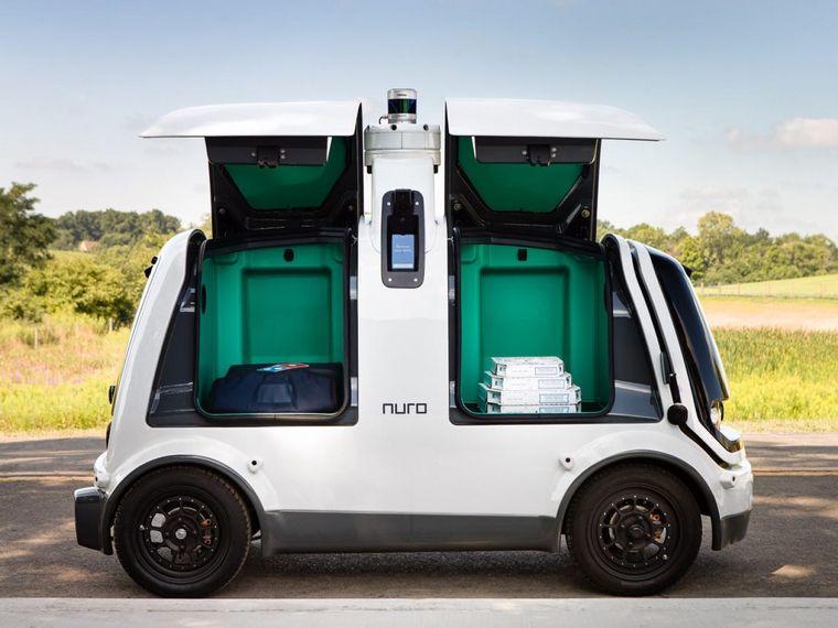 FOTO: El vehículo maneja pedidos de todo tipo, desde la cena hasta la ropa de tintorería