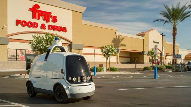 FOTO: Nuro R2 viene un 50 por ciento más de capacidad (18 bolsas de supermercado más)