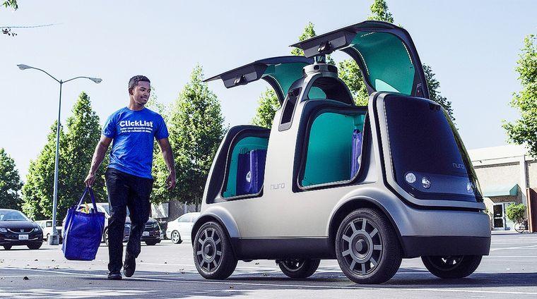 FOTO: Nuro probará su servicio de entrega en California