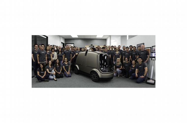 FOTO: Es un vehículo de entrega autónomo de baja velocidad