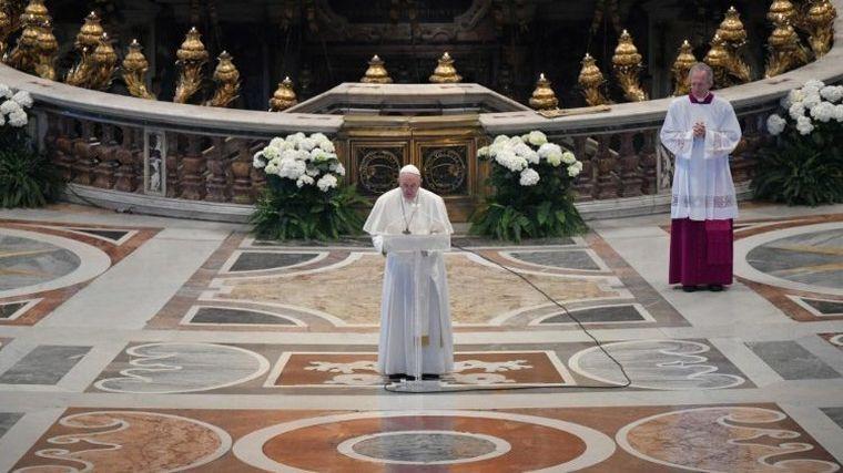 FOTO: Papa francisco - Misa de pascua