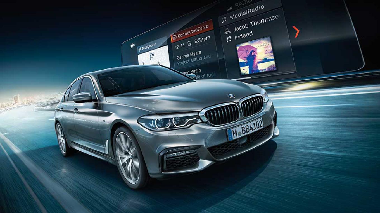 FOTO: Su BMW con servicios y aplicaciones online de movilidad, información, entretenimiento