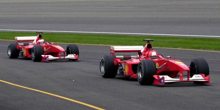 FOTO: Barrichello contó su relación con Schumacher.