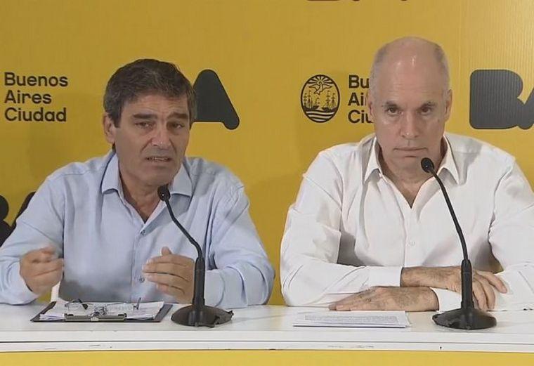 FOTO: Los anuncios para CABA están a cargo del jefe de Gobierno porteño.