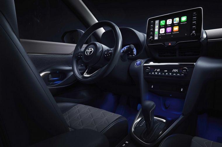 FOTO: Interior del Toyota Yaris Cross