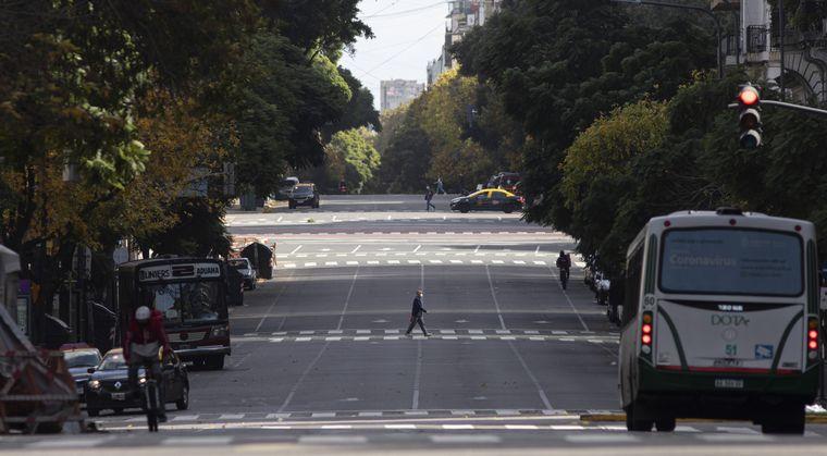 FOTO: No se podrá salir en los grandes aglomerados urbanos de las principales provincias.