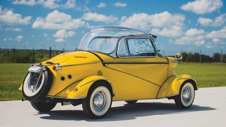 """FOTO: Los """"Messerschmitt"""" fueron el antecedente del FMR TG 500"""