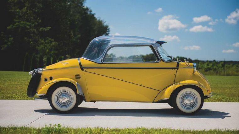 FOTO: Se comenzó a fabricar en 1958 y alcanzaba 125 km/h