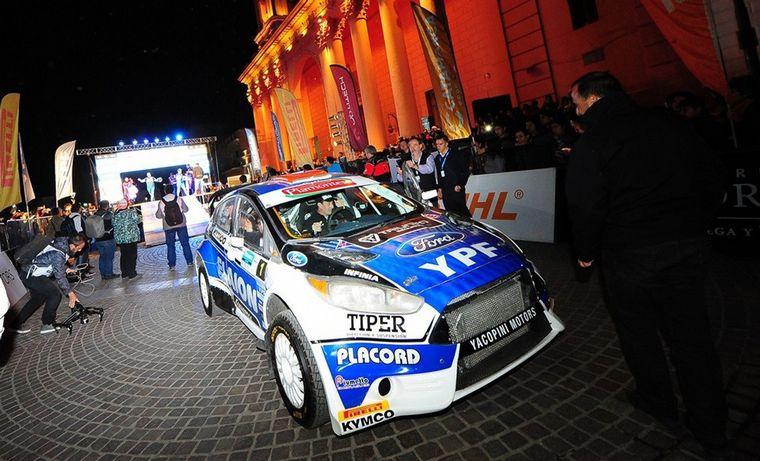 FOTO: Federico Villagra, el múltiple campeón argentino de rally.