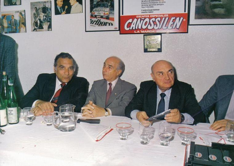 FOTO: La familia, Lidia, Gabriel, Marcelo, Juan Pablo, su gran contención