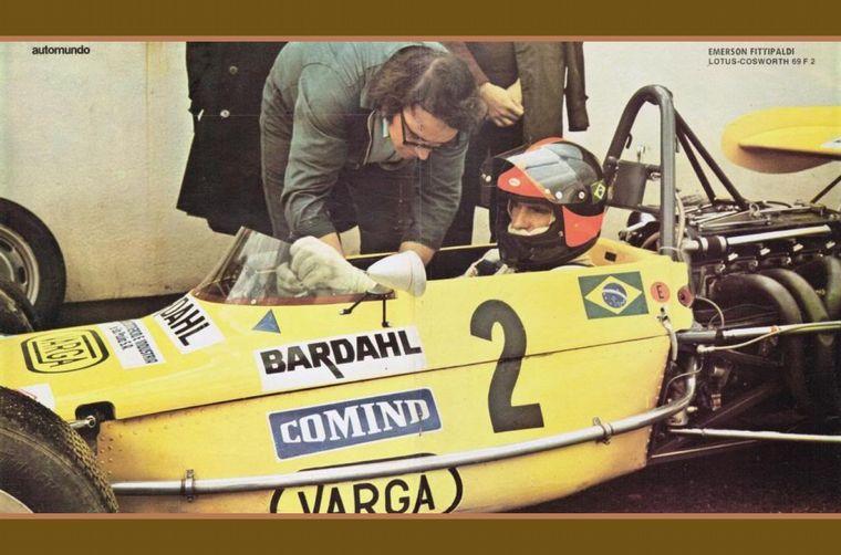 FOTO: Reutemann y Ruesch en Albi, fue la carrera más brillante del santafesino