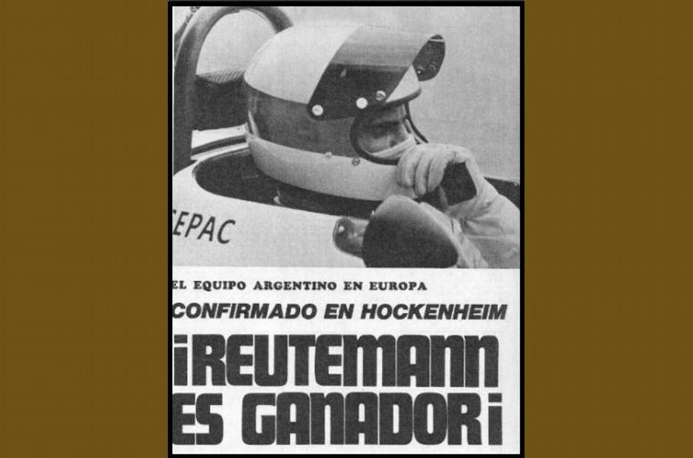"""FOTO: Con Wilson -""""Wilsinho""""- Fittipaldi que integró el team Lotus con su hermano en el '71"""